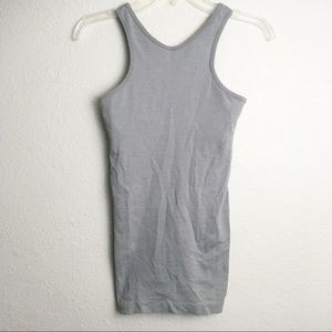 Lululemon Gray Racerback Tank Top